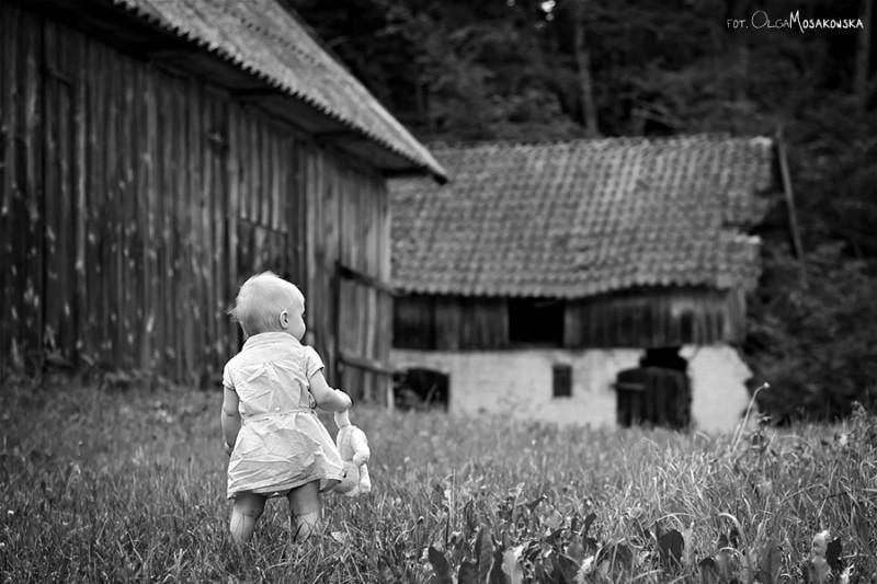 Sesja zdjęciowa dziecięca w okolicach Olsztyna.