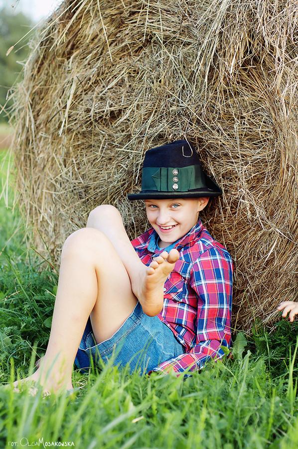 Sesje fotograficzne dla dzieci, w plenerze - Olsztyn.