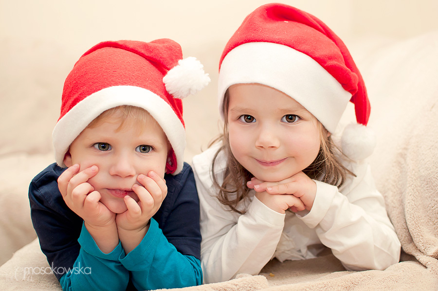 zdjęcia dzieci na święta