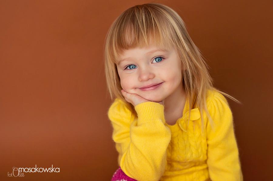 Portrecik dziewczynki w Olsztynie