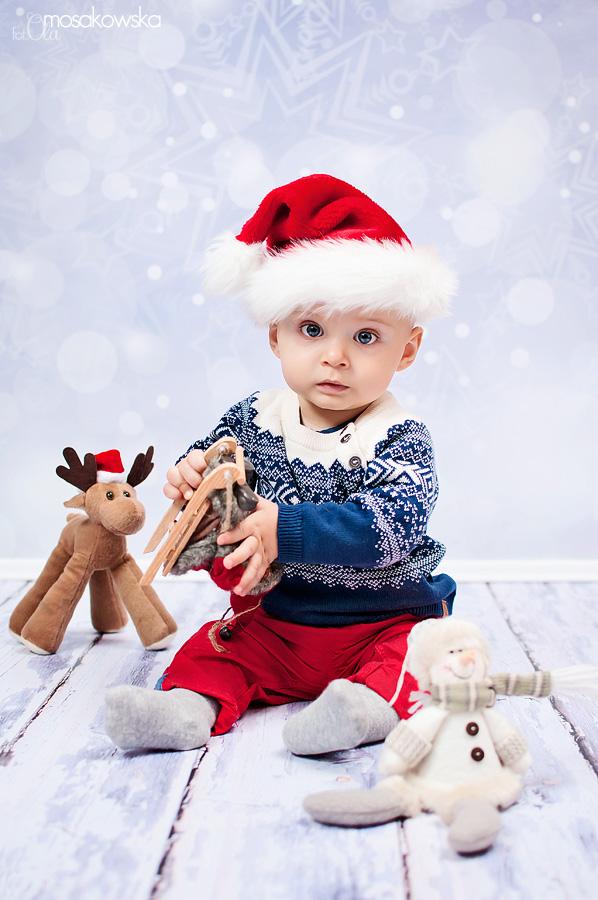 świąteczne sesje dla dzieci