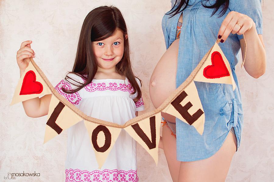 zdjęciowa sesja ciążowa
