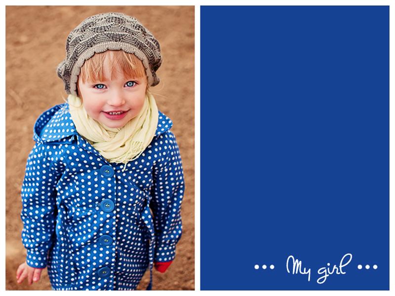Dziewczynka w płaszczyku