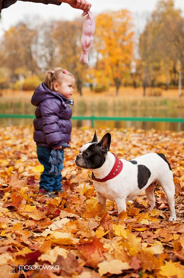 sesja plenerowa jesień