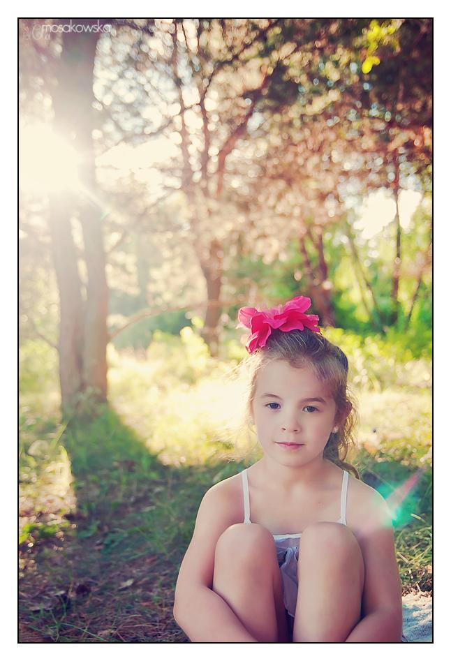zdjęcia w lesie dzieci