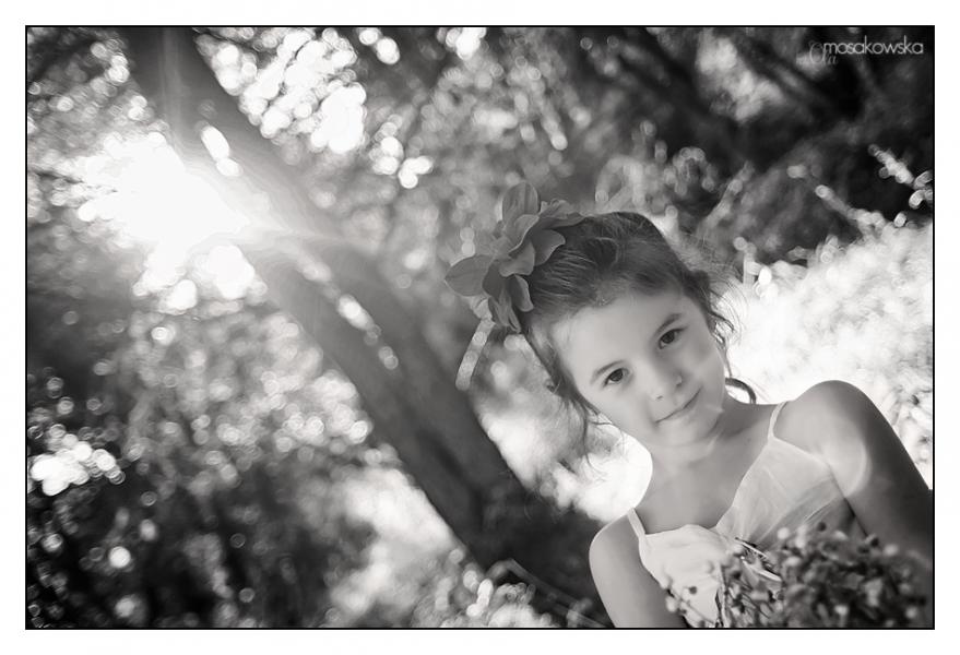 czarno białe zdjęcia dzieci