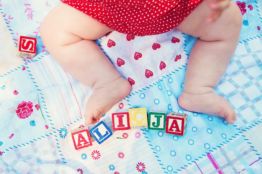 sesja niemowlaka w Olsztynie