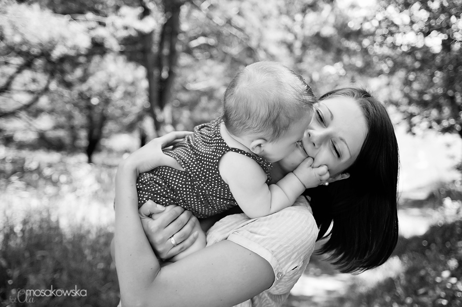 sesja niemowlęca fotograf Olsztyn