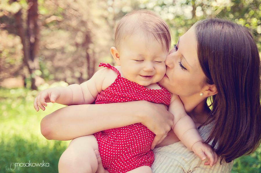 zdjęcia dzieci z Mamą