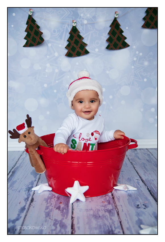 sesje zdjęciowe świąteczne z pocztówkami