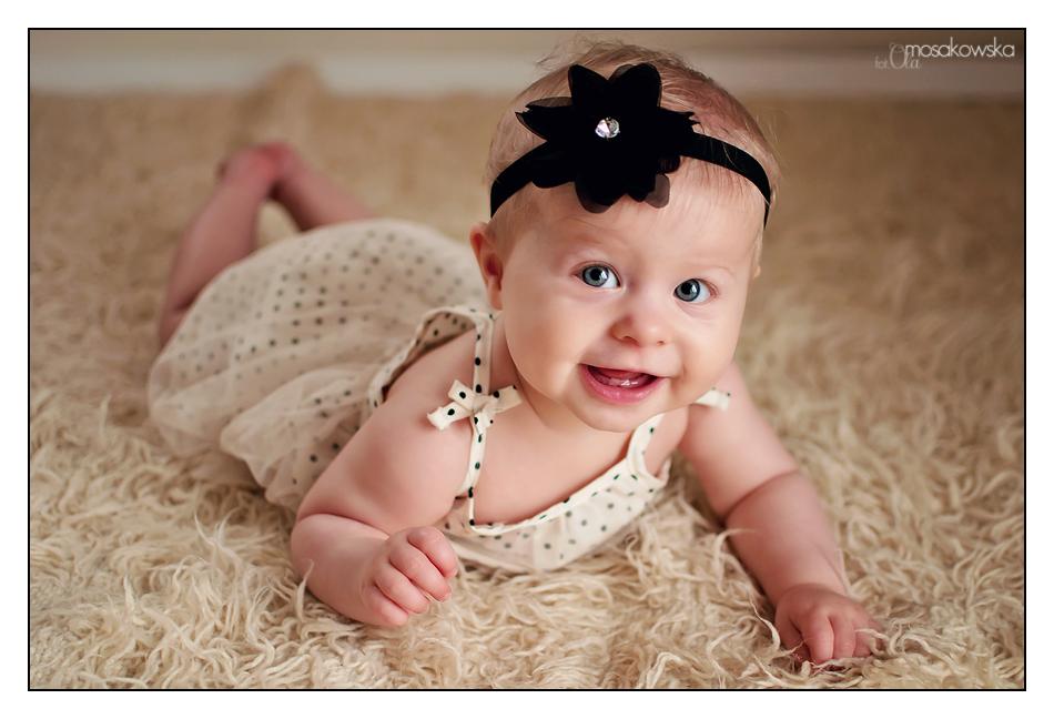 sesje zdjęciowe niemowląt Olsztyn