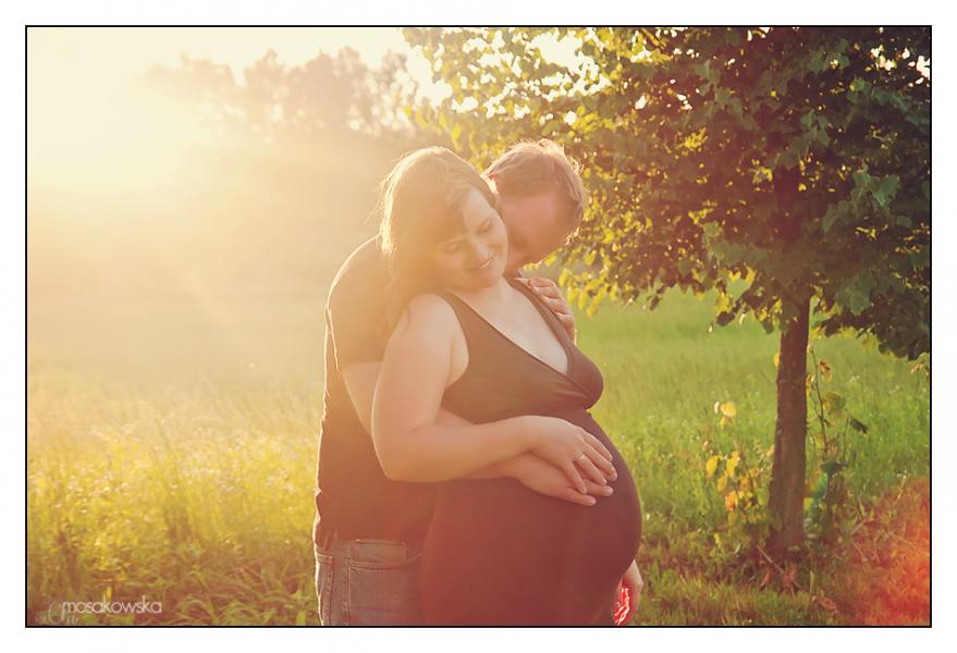 ciążowa sesja zdjęciowa